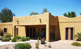 Villa house composite